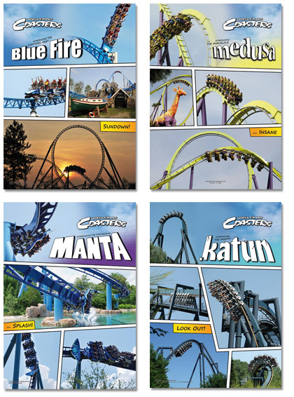 Parkteam World Famous Coasters - Poster Package